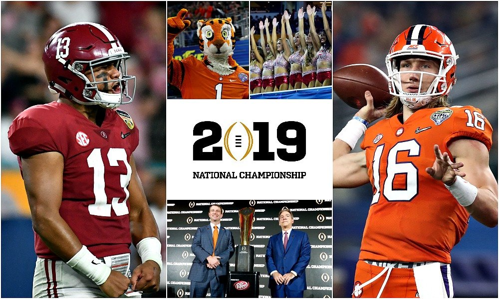2019 Championship game - Bama/Clemson version 3 - who ya got?
